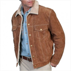 <p>Suede Jacket for Men</p>